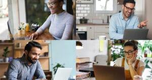 4 Ways to Work with a Dispersed Workforce Skykit Digital Signage