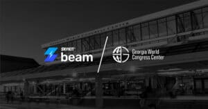 Skykit Beam Digital Signage Georgia World Congress Center
