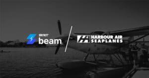 Skykit Beam Digital Signage Harbour Air Seaplanes
