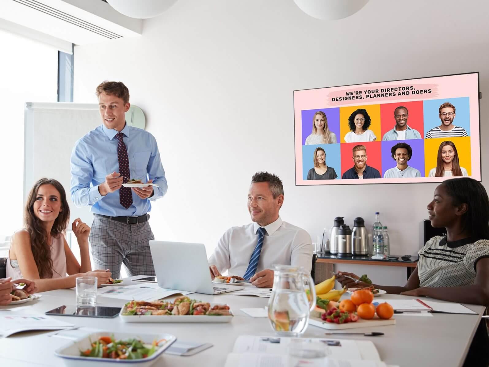 digital display corporate office