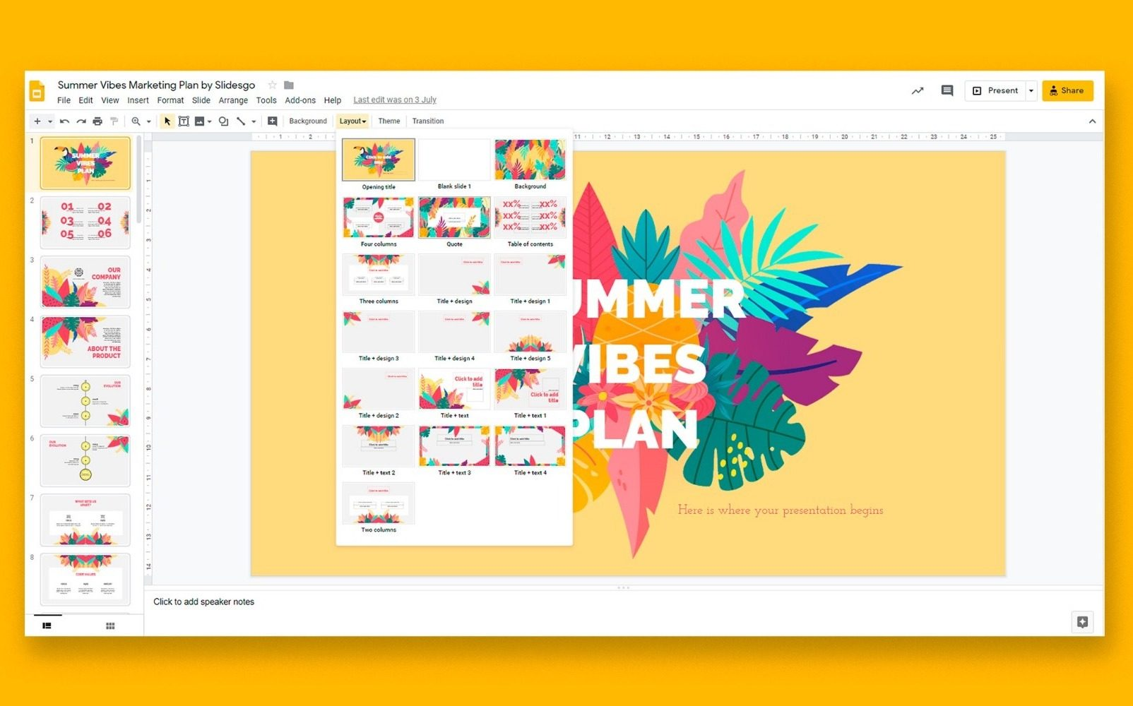 Five Amazing Tools to Easily Create Compelling Digital Signage Content: Google Slides