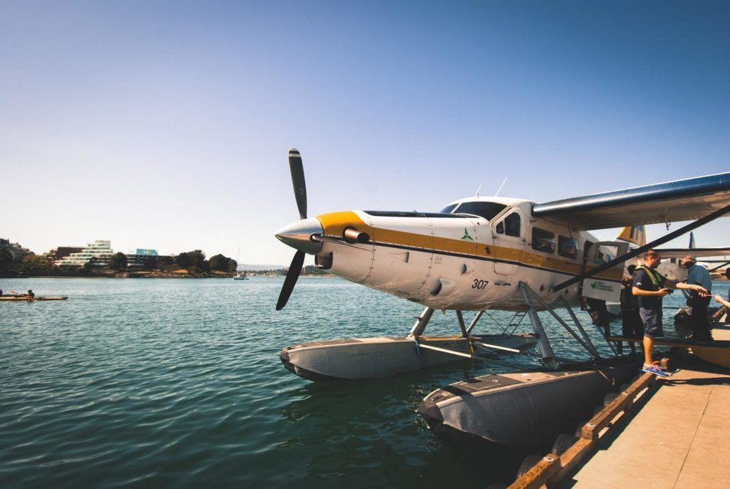 Skykit Beam Digital Signage Content Management Solution Case Study - Harbour Air Seaplanes