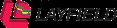Digital Signage for Manufacturing: Layfield Logo