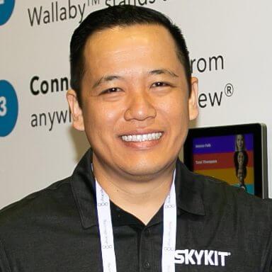 Michael Nguyen Channel Manager Skykit digital signage