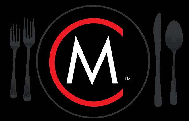 m dinner plate logo