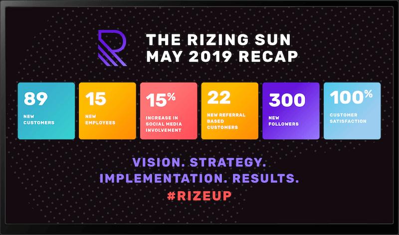 Corporate: Rizing Sun Display 19 1