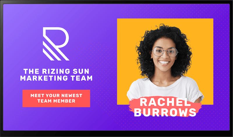 Corporate: Rizing Sun Display 20 1