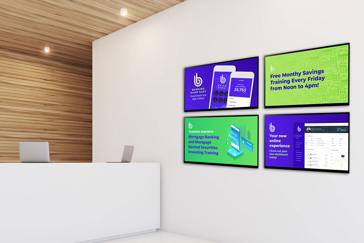 Digital Signage Industries: Skykit Featured Industry Finance Banking