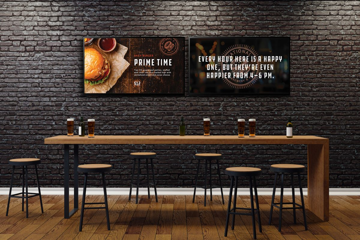 Digital Signage Industries: Skykit Featured Industry Food Services