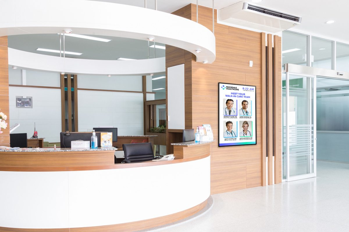 Digital Signage Industries: Skykit Featured Industry Healthcare
