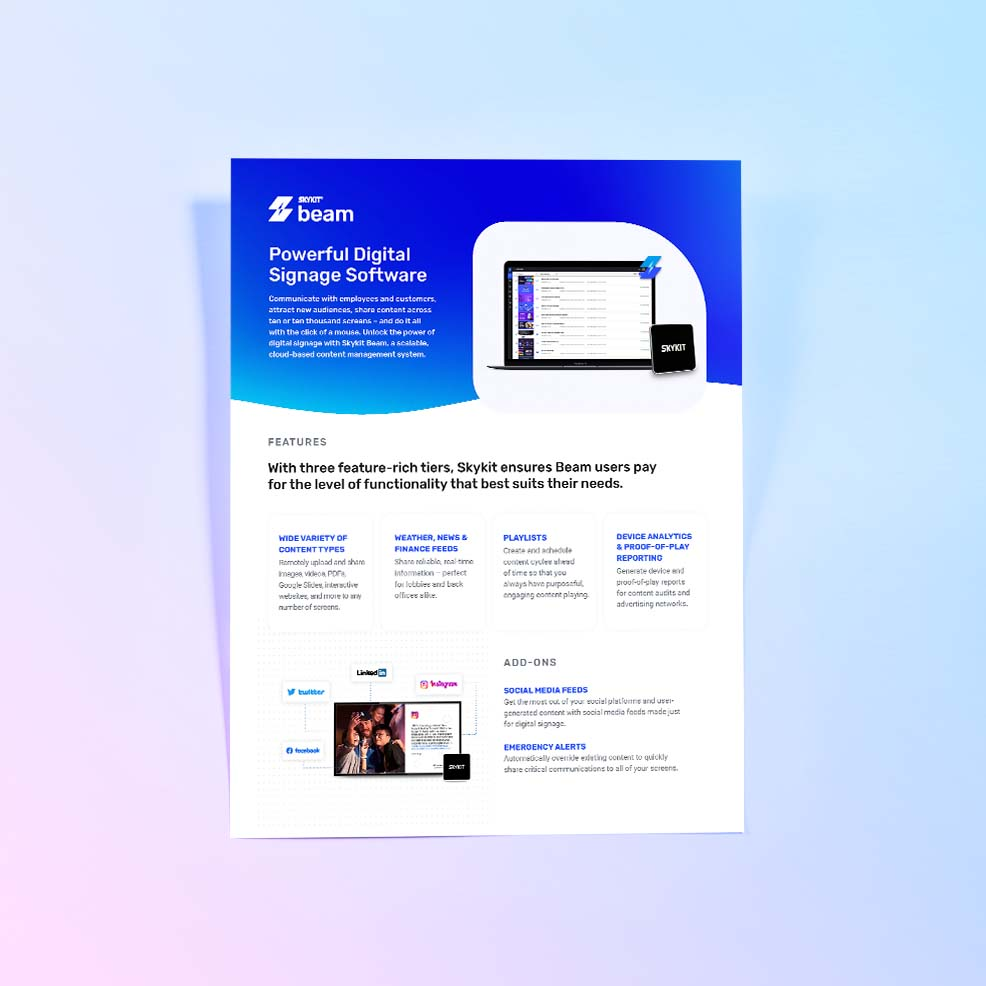 VarTech: Skykit Beam Cover