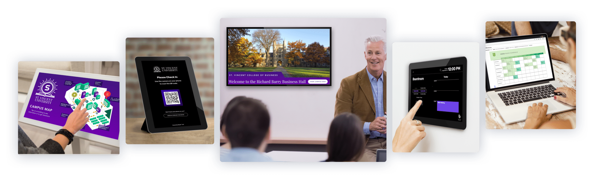 Skykit Beam Digital Signage Content Management Solution for Education and Universities - Examples