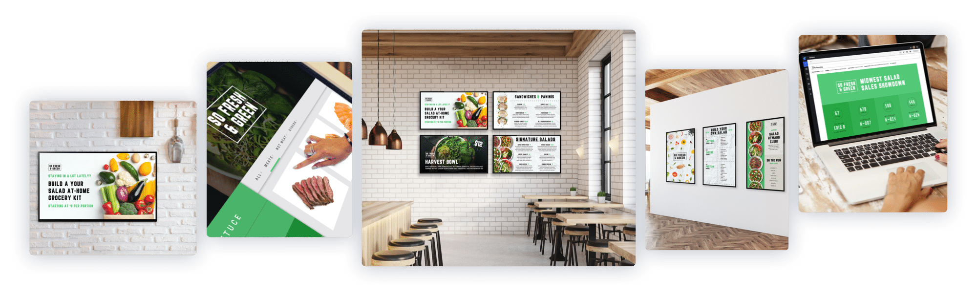 Skykit Beam Digital Signage Content Management Solution for Restaurants and Digital Menu Boards