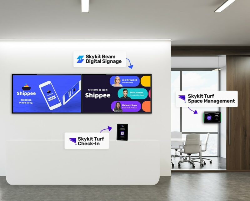 Skykit Innovative Digital Signage and Workplace Experience Solutions
