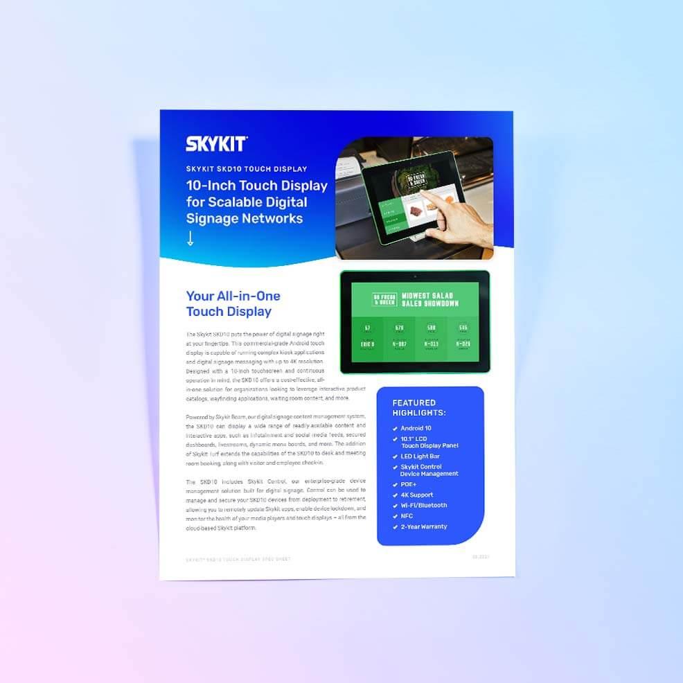 VarTech: Skykit SKD10 Cover