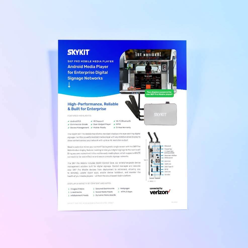 VarTech: Skykit SKP Pro Mobile Cover