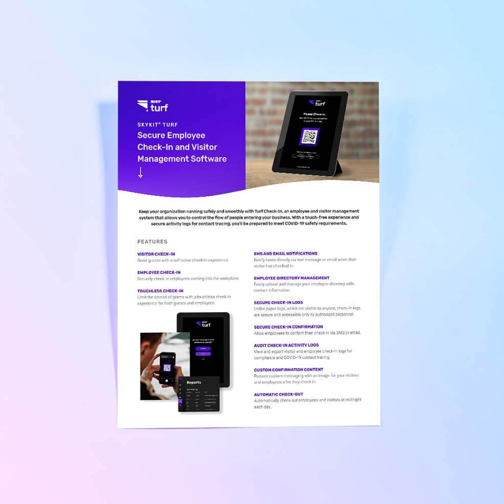 VarTech: Skykit Turf Check in Cover