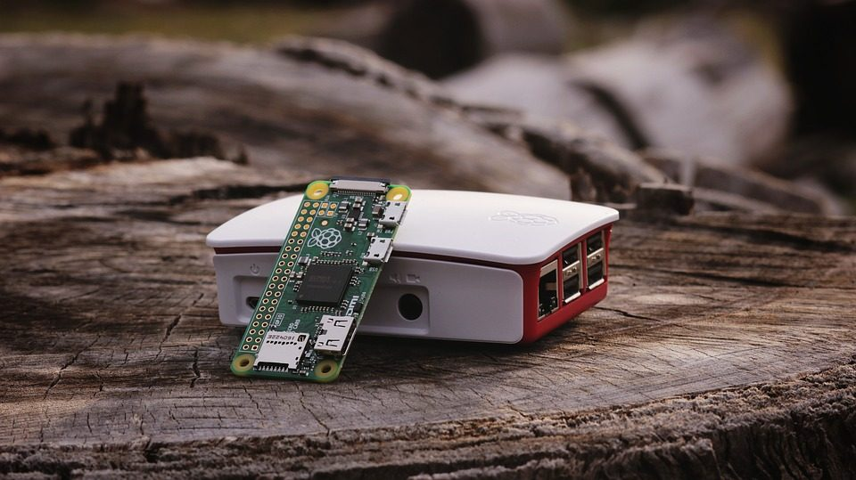 raspberry pi chip in use